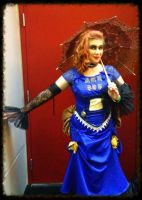 Steampunk T.A.R.D.I.S. Cosplay by katiesparrow1