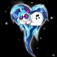 Vinyl Scratch by Jarachii