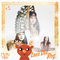 PNG Pack (218) Lana Del Rey by BeautyForeverr