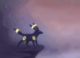 Umbreon's Journey by Vampynella