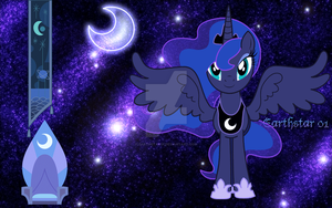 Luna - Princess of the Moon by Earthstar01