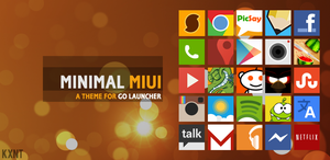 Minimal MIUI Go Launcher Ex Theme by kantbstopped519