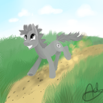 Runs somewhere- AT by GingerAdy