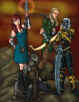 Commission - EverQuest group by LexiKimble