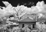 the house where they cooked rocks - infrared by eDDie-TK