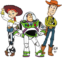 Jessie Buzz Woody by roflbananas