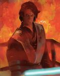 Darth Vader on Mustafar by Anakinuchiha94