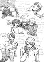 APH:OSH-idea sketches 2 by elf-artist87
