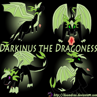 Darkinus the Dragon Wallpaper by Doomdrao