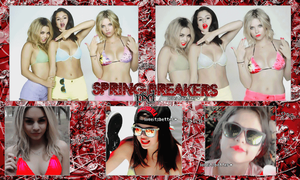 #SPRING BREAKERS PSD by LoveItsBetter