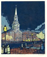 Market Square at Night by chicolet