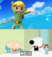 My Reaction to Toon Link in Super Smash Bros 4 by thekirbykrisis