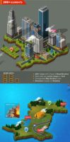 3D City and Map Generator by GraphicAssets