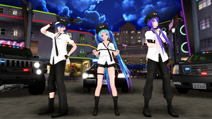 [MMD] GLIDE [Poilice] by HestiaSama