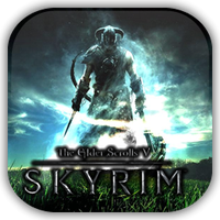 Skyrim Game Icon by Wolfangraul