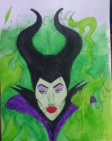 Maleficent by Kiroma