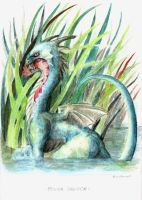 River Dragon by Raironu