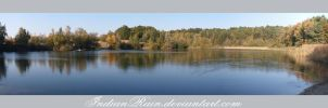 Autumn Lake Panorama by IndianRain