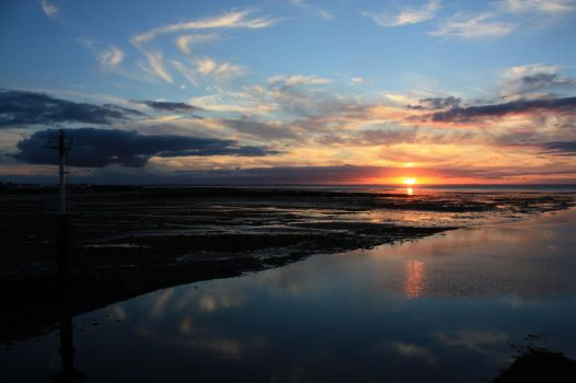Normandy Sunset by YunaHeileen