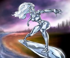 Silver Surfer new by ric3do