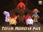 Totem Monster Pack by juliastorybored