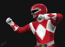 Red Ranger by codycameron09