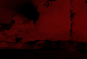 Red Cloud Background by SkyeKathryn