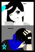 Jaycee x Eyeless Jack by TheSubject115FT