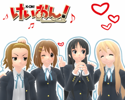 K-On! by superspychic
