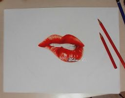 Lips. by MelinaRadke