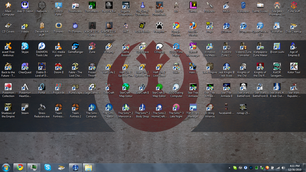 Current Desktop -12-30-2010 by The-Jedi-Exile