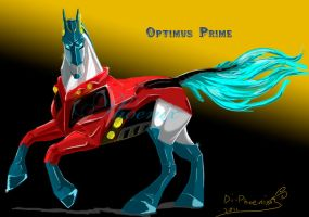 Optimus_horse_Animated by Di-Phoenix