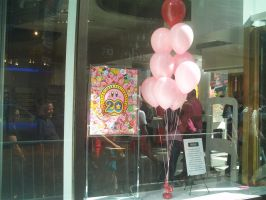 Kirby 20th at Nintendo World 01 by MarioSimpson1