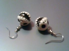 JAck Earrings by musical-onigiri