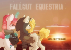 Fallout Equestria - New Trottingham by HiccupsTheNoodle