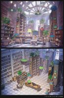 Library by arsenixc