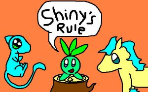 SHINYS RULE by Pinkytheeevee