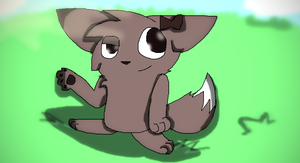 Eevee-Contest Entry by Think-Link