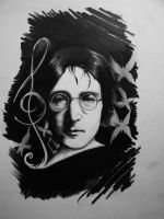 john lennon by vstattoo
