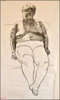 Drawing- Figure- Woman I. by Ennete