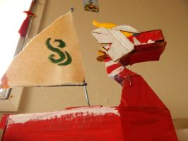 King of Red Lions (Cardboard) by Chillyfoot