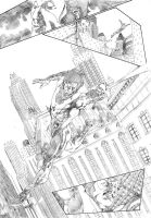 Nightwing sample page 2 by CanalesComics