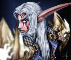 Warcraft Night Elf Sakoora by Lawrichai