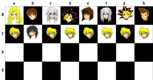 Yugioh's chess board by Joanther