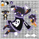 Halloween Adopt (Closed) by loonaismenow
