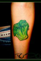 Broccoli Tattoo by TodoArtist