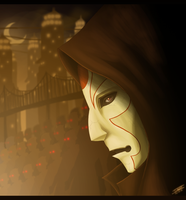 Amon in the Shadows by tristonamorre