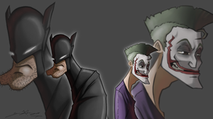 Joking Bats by G-Chris