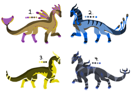 Cheap Dragon Point-Adoptables SOLD OUT by ForestGlade