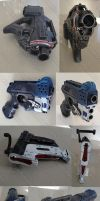 Mass Effect character Nerf gun mods / props by GirlyGamerAU